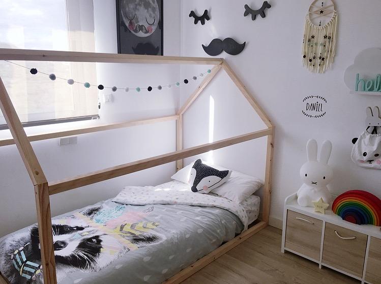 Nuestra Nueva Cama Casa Montessori Mi Bebé Molón